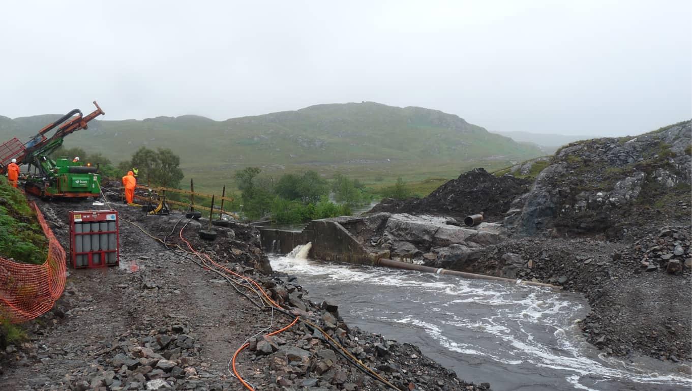 Rannoch Dam