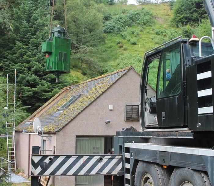 Glengass Hydro Scheme Novar Refurbishment
